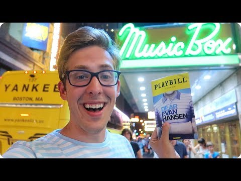 Seeing Dear Evan Hansen on Broadway!
