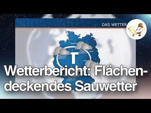 [Postillon24] Flächendeckendes Sauwetter - Der Wetterbericht