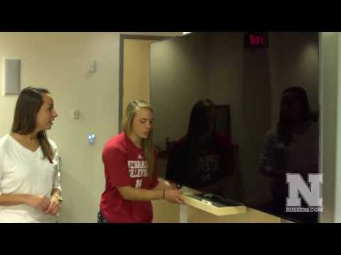 Nebraska Volleyball Locker Room Tour