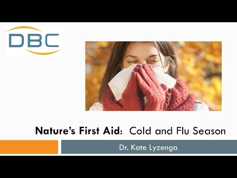 Nature's First Aid:  Survive the Cold and Flu Season Naturally!