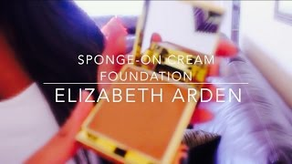 Elizabeth Arden Sponge-On Cream Foundation | First Impressions + Review Thumbnail