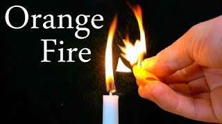 How to Make A Micro Flamethrower From An Orange