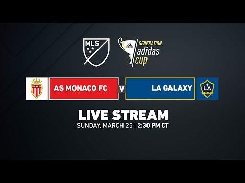 A.S. Monaco vs LA Galaxy - Champions Division | 2018 Genera…