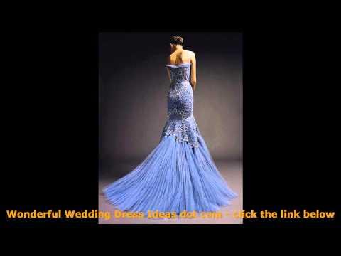 Wonderful Blue Wedding Dresses