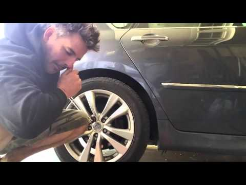 Get a locking wheel nut off 100% Without Key and No Welding