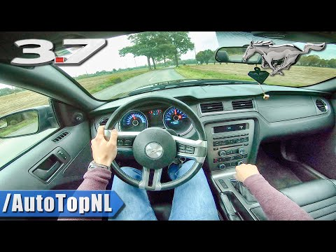 2014 FORD Mustang 3.7 V6 315HP ROUSH Exhaust LOUD! POV Test Drive By AutoTopNL