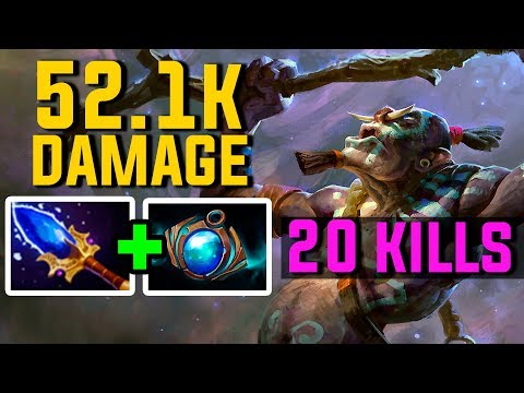 52.1 K DAMAGE DEALT TO ENEMY - WITCH DOCTOR - 20 KILLS - Forev - Dota 2