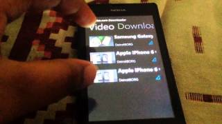 How to download videos in Nokia lumia