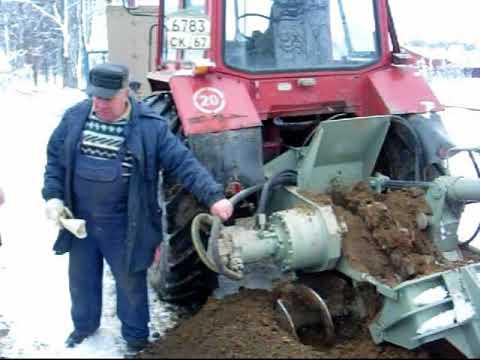 Экскаватор траншейный цепной ЭТЦ-1609 Г (Филиал «Дмитровский экскаваторный завод»)