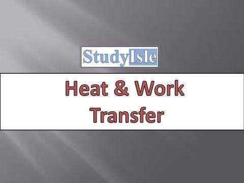T5. Heat & Work Transfer Based on UPSC Engineering Services Examination (Hindi)