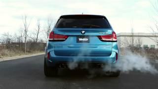 Eisennmann BMW X5M Sport Exhaust -  Valve Open with Take Off