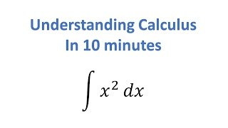 Understand Calculus in 10 Minutes thumbnail