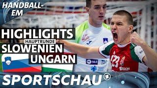 Slowenien gegen Ungarn - die Highlights   Spielbericht   Handball-EM   Sportschau