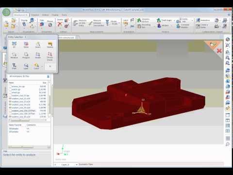 WorkXPlore 3D - ソリッドのエッジ検証