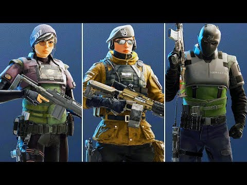 CHECKING OUT THE NEW OPERATORS - Operation White Noise (Rainbow Six Siege)