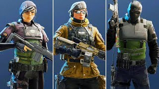 CHECKING OUT THE NEW OPERATORS - Operation White Noise (Rainbow Six Siege) thumbnail