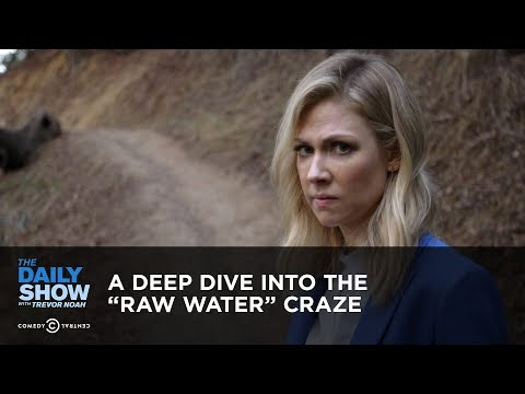 A Deep Dive into the 'Raw Water' Craze | The Daily Show