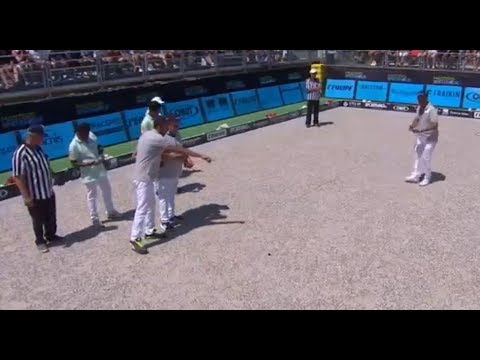 Masters Pétanque 2018 Finale INTERNATIONALE vs MADAGASCAR