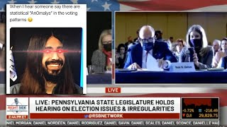 Download lagu Pennsylvania State Legislature Hearing on Election Irregularities! & Why I Say What I Say!!