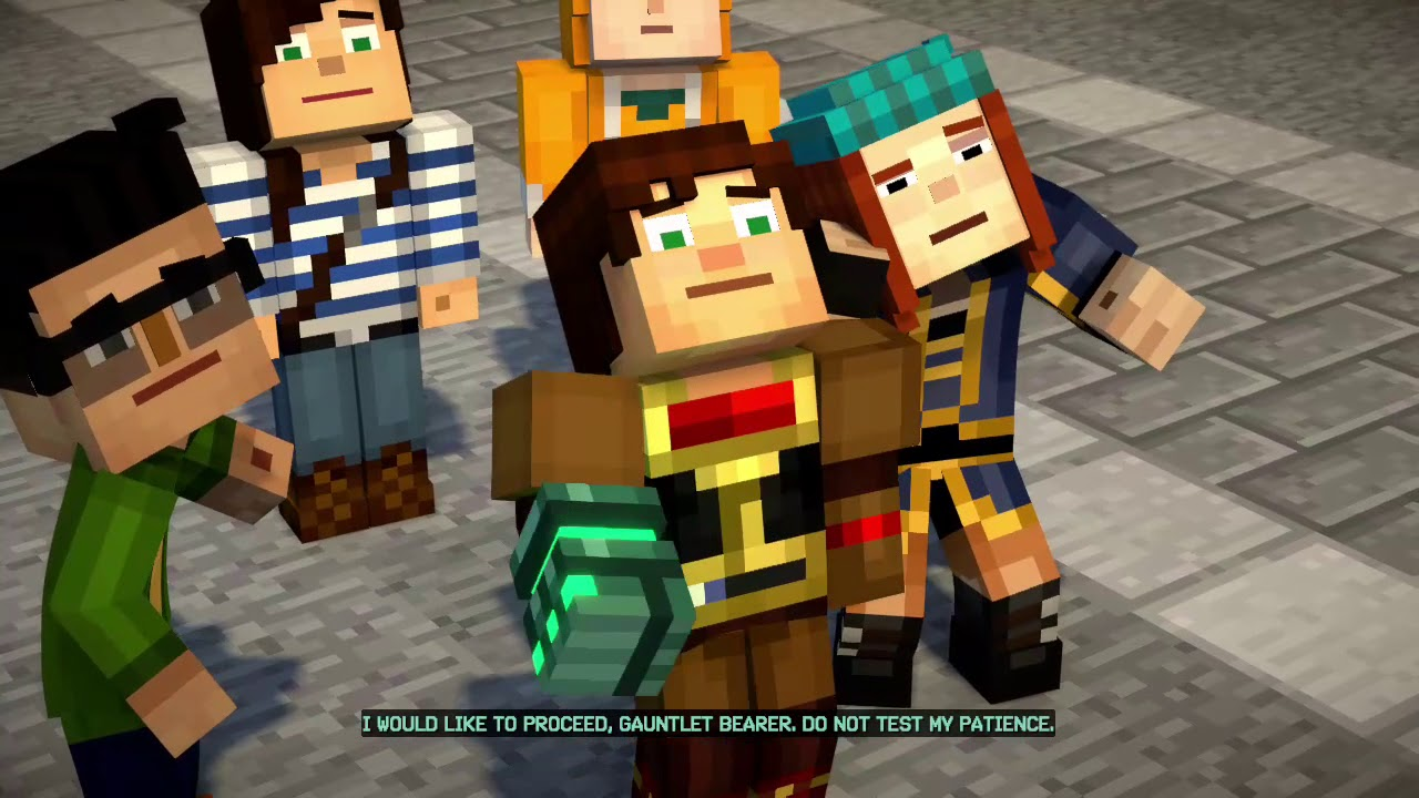 Minecraft Story Mode Season 2 Episode 2 Glitch Patched Maybe Not