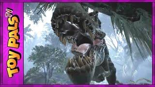 T-Rex Simulator DINOSAUR GAME APP on iPad Ages 12+ Tyrannosaurus Rex Toy Pals TV
