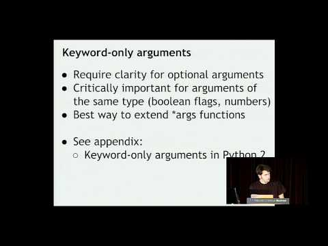 Brett Slatkin - How to Be More Effective with Functions - PyCon 2015