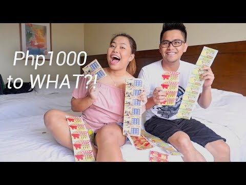 1000 PESO SCRATCH IT CHALLENGE With My Brother