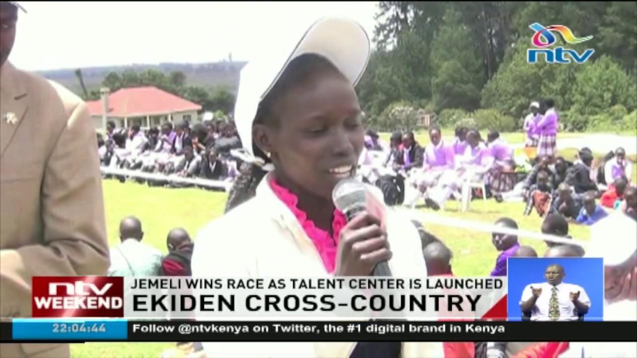 Jemeli wins cross country race as talent center is launched in Elgeyo Marakwet