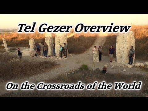 Tel Gezer, Israel: On The Crossroads Of The World! Joshua, David, Solomon, Via Maris, Canaanites.