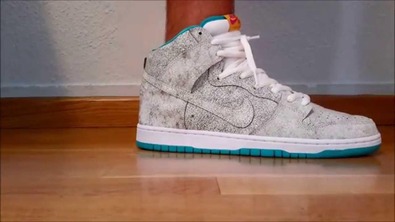 new style f2b84 e4456 Nike Dunk High Premium SB Flamingo - On feet!