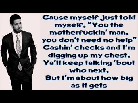 All Me  Drake Ft 2 Chainz & Big Sean Lyrics