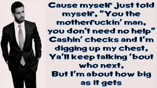 Video All Me - Drake Ft 2 Chainz & Big Sean (Lyrics) download MP3, 3GP, MP4, WEBM, AVI, FLV Agustus 2018