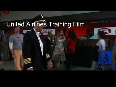 United Airlines Training Film