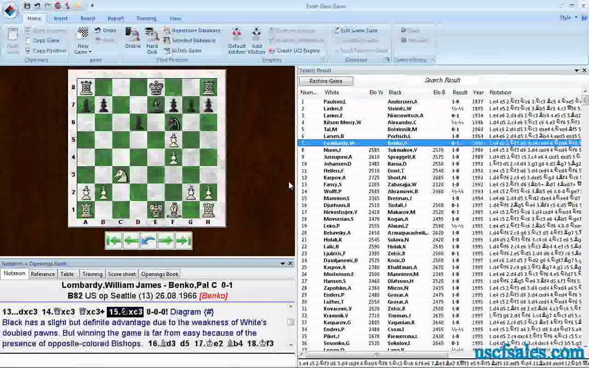 Download free Free Chess Annotated Games software - americateam