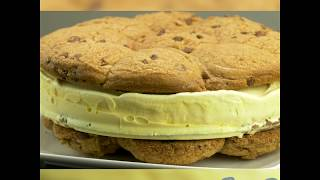 Giant Ice Cream Cookie Sandwich Recipe | B&M