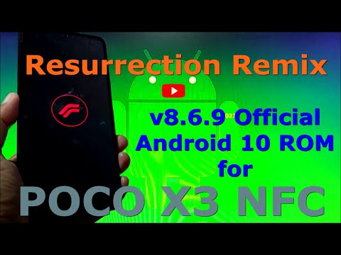Resurrection Remix v8.6.9 Official for Poco X3 [surya] Android 10