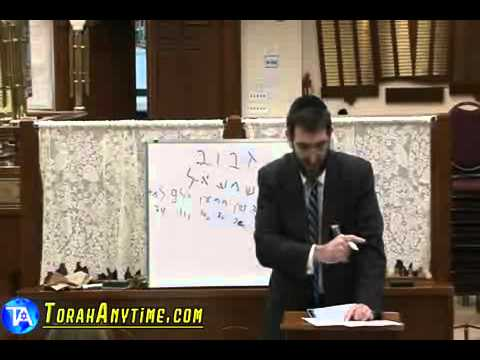 Rabbi Mordechai Kraft - A Kabbalistic View Of The Gaza Conflict