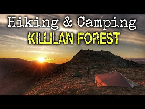 North West Highlands Wild Camping - Killilan Forest