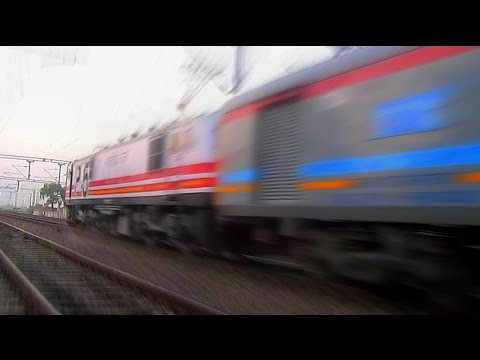 The Top Five FASTEST TRAINS  Of Indian Railways In Action!!!