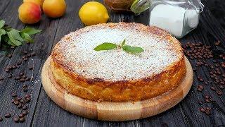 Творожная запеканка с абрикосами - Рецепты от Со Вкусом