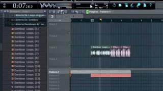 Haciendo Una Pista Sencilla De Regaaeton En FL Studio 9 [Prod. Campos EMI] + .FLP