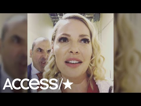 Katherine Heigl Gets Hilariously 'Litt Up' By Rick Hoffman On The 'Suits' Set  Access