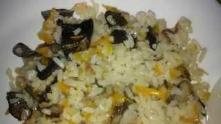 Как приготовить грибной плов или очень вкусный рис с грибами в мультиварке
