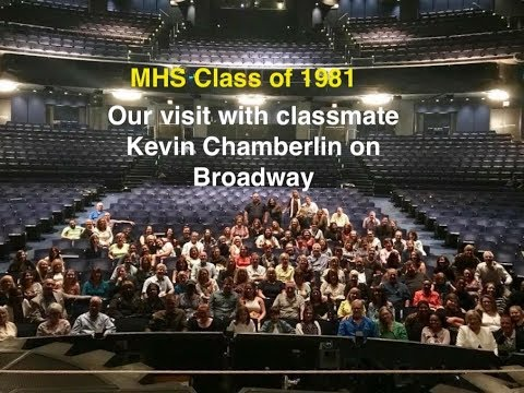 Kevin Chamberlin hosts his highschool class at the Wizard