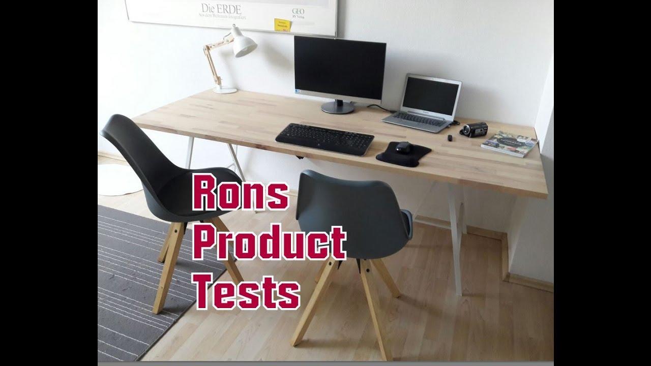 Büro schreibtisch selber bauen  DIY Do it yourself Schreibtisch für ca 50€ selber bauen aus ...