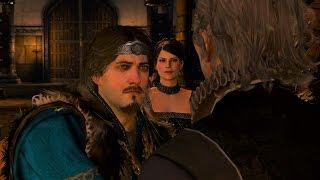 Cerys and Hjalmar Death - Svanrige Becomes King of Skellige  - Witcher 3 - Part 111