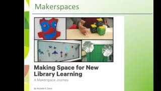 Learning Commons Video Byte 3: Rethink Makerspaces