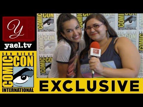 Tamara Duarte  Wynonna Earp  San Diego ComicCon 2017  yael.tv