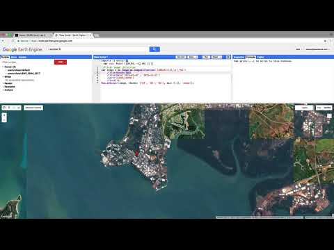 Supervised classification in Google Earth Engine