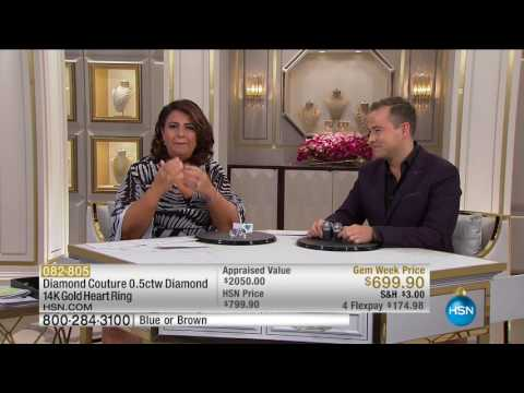 HSN | Diamond Couture Jewelry 10.16.2016 - 02 PM